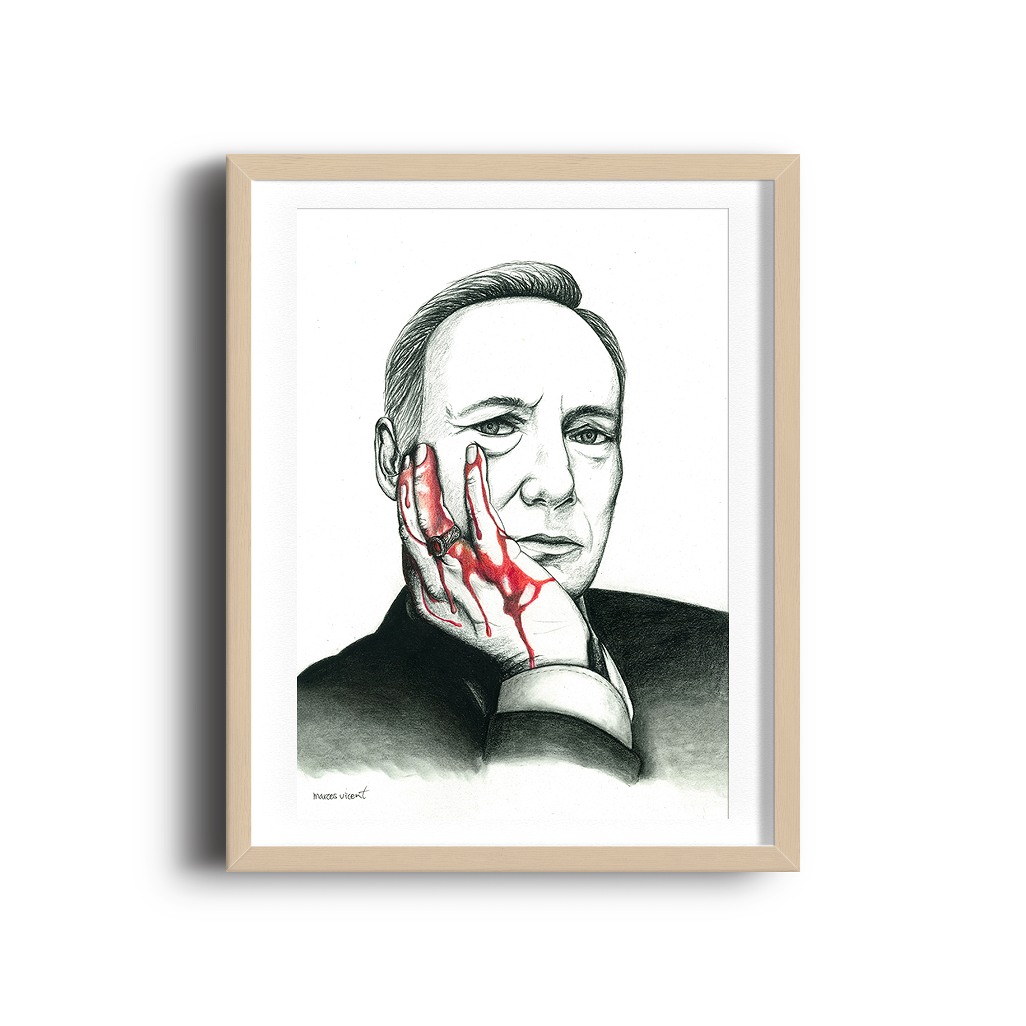 Kevin Spacey is Francis Frank J. Underwood (House of cards)